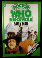 Doctor Who Discovers Early Man - Target Book - 1977 - No Poster